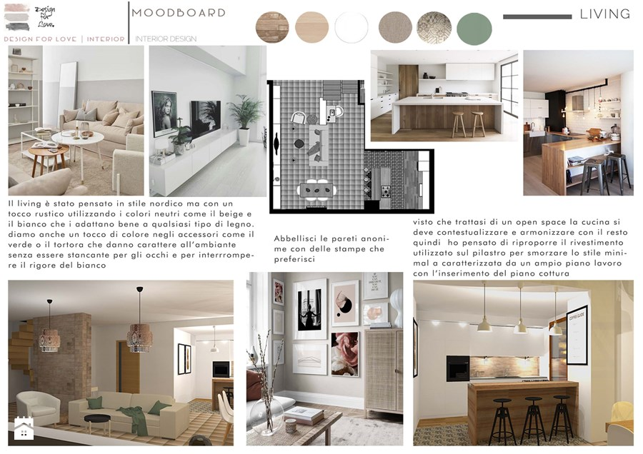 Moodboard - pubblicato da Design For Love