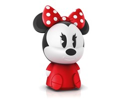 Philips 71883/57/P0 - Piccola lampada per bambini DISNEY MINNIE MOUSE LED/0,1W/USB