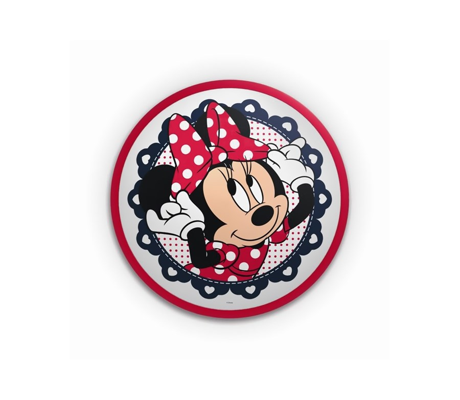 Philips 71761/31/16 - Applique a LED per bambini DISNEY MINNIE TOPO 1xLED/7,5W Multicolore