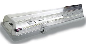 Plafoniere Led Officina : Cristalrecord plafoniera stagna led w luce