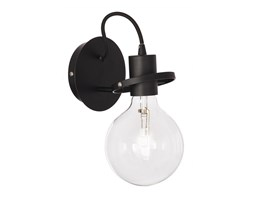 Ideal lux applique id frida ap1 e27 led metallo brunito lampada