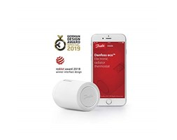 Smart Heating Danfoss Eco 014 G1101 Termostato per radiatore, Programmabile, Bluetooth