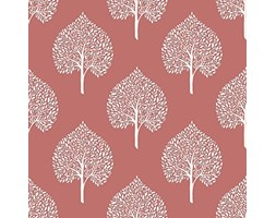 nuwallpaper nu1698 Grove Corallo in vinile, colore: rosa