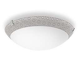 Philips Lighting Ballan Lampada da Parete, e/o Soffitto LED, 10W, Diametro 26 cm, Bronzo