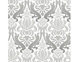 NuWallpaper grigio Nouveau Damask Peel and Stick-Carta da parati