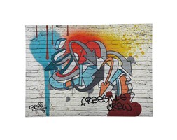 Tela graffiti multicolore 80 x 110 cm FREESTYLE