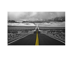 Quadro con stampa Endless Highway (70x118)