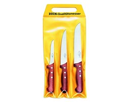 Dick - Set di 3 coltelli Giallo set di coltelli