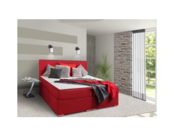 JUSTyou Mefis Letto Vispring 126x180x200 cm Rosso