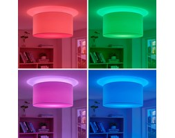 Plafoniera LED Everly RGB con comando via app