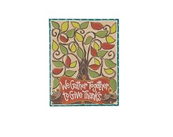 """Glory Haus """"We gather together canvas Wall Art, multicolore, 16x 50,8cm"""
