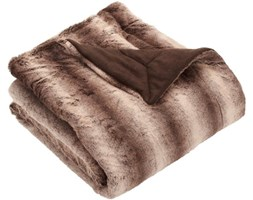 Hagemann Boston - Coperta da 130 x 170 cm, colore: Marrone