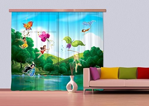 Tende Per Bambini Disney : Ag design tenda tenda fcc xxl 4005 cameretta disney fairies tende