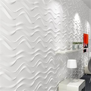 Pannello Decorativo 3D WHITE SEA -Pack da 4 Unità-