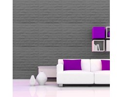 Pannello Decorativo 3D GREY BRICKS -Pack da 4 Unità-