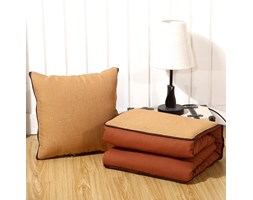 Cuscino Convertibile in Piumone BUNKE -Brown-