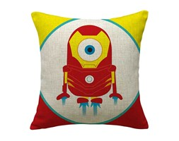 Fodera Cuscino MINION RED cotone 45x45