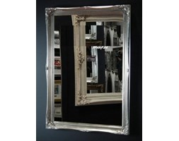 FRAMES BY POST New Large Silver Shabby Chic Style Swept Bevelled Overmantle Wall Mirror 101,6 x 71,1 cm – Prezzo Include Consegna Standard