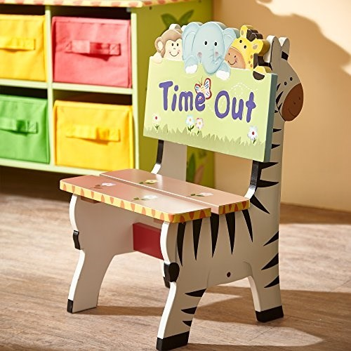 Fantasy Fields by Teamson Sunny Safari Sedia Time out, Multicolore