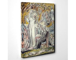 Big Box Art Stampa su Tela 61 x 40,6 cm (60 x 40 cm) William Blake The Wandering Moon – Tela da Parete Pronto da Appendere – Consegna Gratuita