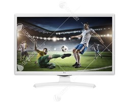 "Lg - Lg Monitor Tv 24"" Led Hdready T2/s2 24tk410vw White Eu"