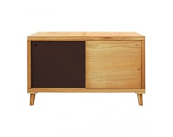 Mobile tv marrone in stile scandinavo con 2 ante - RE6056 - Mobili Rebecca® Scandinavo Arancione