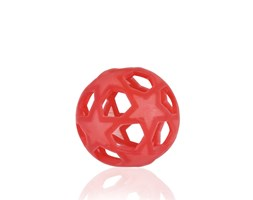 Star Ball 100% gomma naturale - rosso
