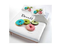 Datex Trade Copripiumino.Datex Trade Parure Copripiumino 1 P E Mezza Donuts Parure