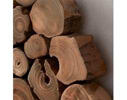 Kave Home Pannello murale Awas, in Legno - Naturale
