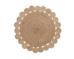 Kave Home Tappeto Coss, in Fibra naturale - Naturale Beige