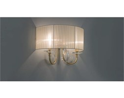 CICIRIELLO APPLIQUE CASTRO 2 LUCI Beige Design
