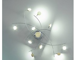 SIKREA APPLIQUE/PLAFONIERA ECLISSI LED 10 LUCI