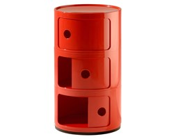 KARTELL Componibili a tre elementi (Rosso - ABS)