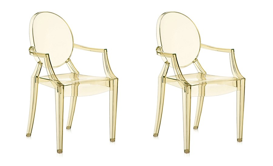 Kartell louis ghost small armchair shop online at kartell