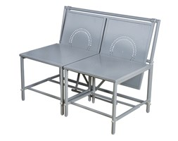 Panchina magic bench grigio
