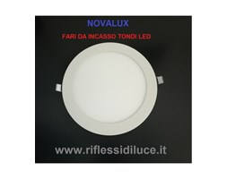 Novalux Ring faro incasso tondo diametro 225 mm led 17W luce bianca calda