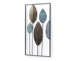 Kave Home - Pannello murale Leaves 54 x 104 cm Multicolore