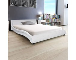 vidaXL Giroletto Bianco in Similpelle 140x200 cm Ecopelle