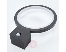 Applique da esterni LED Ring,grafite,con sensore