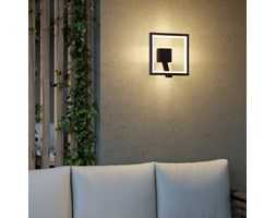Applique da esterni LED Square,grigio grafite