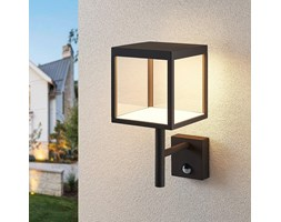 Applique da esterni LED Cube,grafite,con sensore