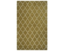 Rizzy Home Julian Pointe JP8744Hand-Tufted Area rug, 2'15,2cm x 8', Oliva/Bianco Sporco