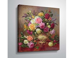 "Art Wall Williams-b-007-40 x 40 w Albert Williams ""Roses from a Victorian Garden"", opera d'arte su tela, 45,5 x 45,5 cm Marrone"