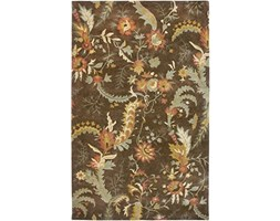 Rizzy Home BL2681 Bentley Hand-Tufted Area rug, 3-Feet by 5-Feet, Tradizionale, Marrone
