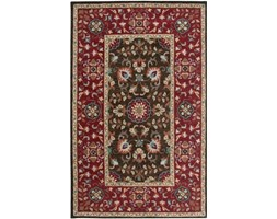 Rizzy Home CD3022 Camden Hand-Tufted Area rug, 3-Feet by 5-Feet, Tradizionale, Marrone/Rosso