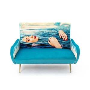Decoro Divani In Pelle.Seletti Toiletpaper Sofa Two Seater Sea Girl Divano Due Posti Con