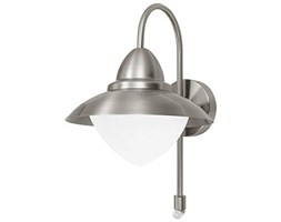 EGLO SIDNEY Outdoor wall lighting Acciaio inossidabile E27 60 W Metallo