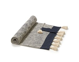 Kave Home - Plaid Ginnie blu e beige