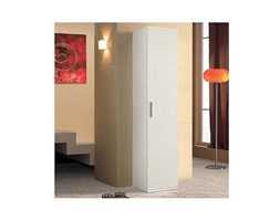 Flow Fusion Design COLONNA NILO5 1 ANTA BIANCO GRAFFIATO Marrone