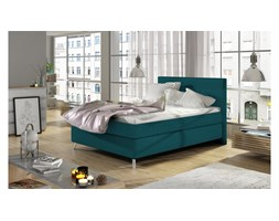 JUSTyou Cosy Letto Vi-Spring Turchese Velours 140x200